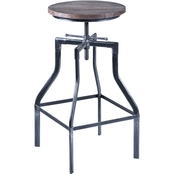 Armen Living Concord Adjustable Barstool