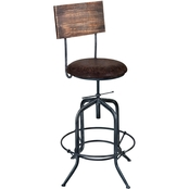 Armen Living Damian Adjustable Barstool