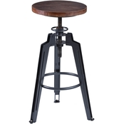 Armen Living Tribeca Adjustable Barstool