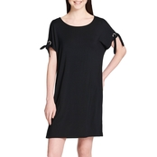 Calvin Klein Collection Dress with Tie Sleeves