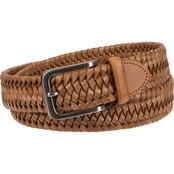 Tommy Bahama Men's Leather Stretch Braid Belt