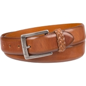 Tommy Bahama Braided Loop Leather Belt