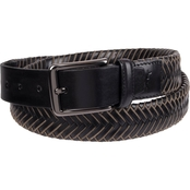 Tommy Bahama Leather Laced Braid Belt