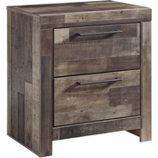 Benchcraft Derekson 2 Drawer Nightstand