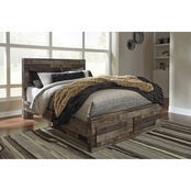 Benchcraft Derekson Footboard Storage Bed