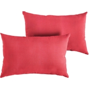 Mozaic Sunbrella Dupione Knife Edge Pillow 2 pk.