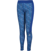 adidas Little Girls Space Dye Tights