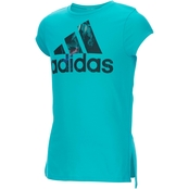 adidas Little Girls Train To Win Tee