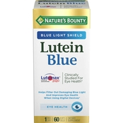 Nature's Bounty Lutein Blue 60 Pk.