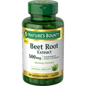 Nature's Bounty Beet Root Extract 90 pk.