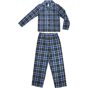Jellifish Kids Boys Plaid 2 Pc. Pajama Set