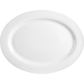 Martha Stewart Collection Whiteware Oval Platter