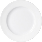 Martha Stewart Collection Whiteware Rim Dinner Plate