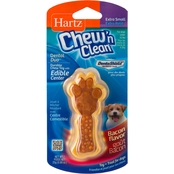Hartz Chew N' Clean Medium Dental Duo Chew Toy