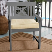 Sunbrella Dupione Sand Chair Cushion