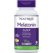 Natrol Melatonin Fast Dissolve Tablets, Strawberry 10mg 60 Ct.