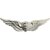 Army Badge, Regular Mirror Finish, Flight Surgeon