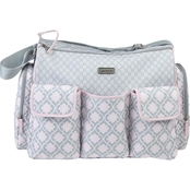 Carter's Triple Pocket Duffel Diaper Bag