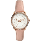 Fossil Women's Tailor Multifunction Leather Watch