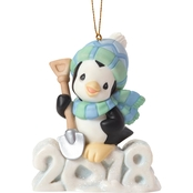 Precious Moments 2018 Penguin Ornament