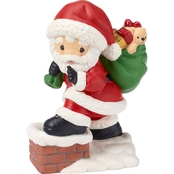 Precious Moments Santa Figurine