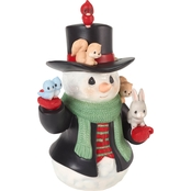 Precious Moments Snowman Figurine