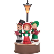 Precious Moments Victorian Carolers LED Musical Figurine
