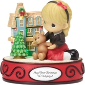 Precious Moments Doll House LED Musical Figurine