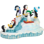 Precious Moments Penguin Winter Fun Musical Figurine