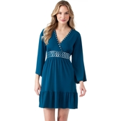 Michael Kors Hardware Drape Vee Dress