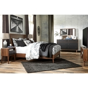 Signature Design by Ashley Daneston 5 pc. Bedroom Set with Media Chest