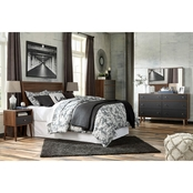 Signature Design by Ashley Daneston Headboard Kit 5 pc. Set with 5 Drawer Chest