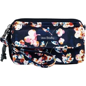 Vera Bradley Lighten Up RFID All in One Crossbody, Cut Vines