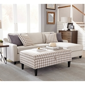 Scott Living Montgomery Modern Chaise Sofa