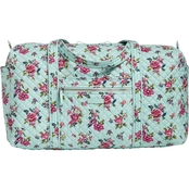 Vera Bradley Iconic Large Travel Duffel, Water Bouquet