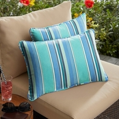 Mozaic Co. Sunbrella Dolce Oasis Corded Pillow 2 Pk.