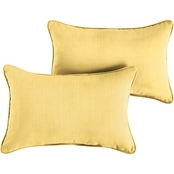 Mozaic Co. Sunbrella Dupione Corded Pillow 2 Pk.