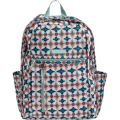 Vera Bradley Lighten Up Grand Backpack, Water Geo