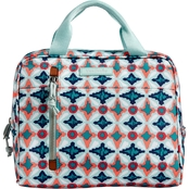 Vera Bradley Lighten Up Lunch Cooler, Water Geo