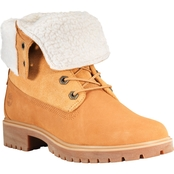 Timberland Jayne Teddy Fleece Fold Down Boots