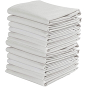 KAF Home 20 x 30 in. White Flour Sack Kitchen Towel 12 Pk.
