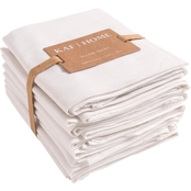 KAF Home 28 x 28 in. White Flour Sack Kitchen Towel 12 Pk.