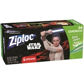 Ziploc Star Wars Sandwich Bags 66 ct.