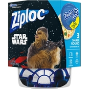 Ziploc Twist 'n Loc Containers, 3 ct. / Small