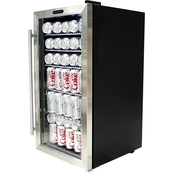 Whynter 120 Can Beverage Refrigerator with Internal Fan