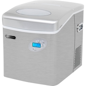 Whynter Portable Ice Maker with 49 lb. Capacity and Water Connection