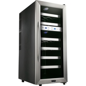 Whynter 21 Bottle Dual Temperature Zone Wine Cooler