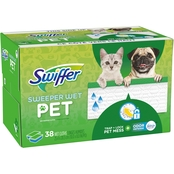 Swiffer Sweeper Wet Mopping Pad, Pet Multi Surface Refills for Floor Mop 38 Ct.