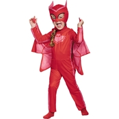 Morris Toddler Girls PJ Masks Owlette Classic Costume