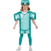 Disguise Little Girls / Girls Minecraft Armor Classic Costume